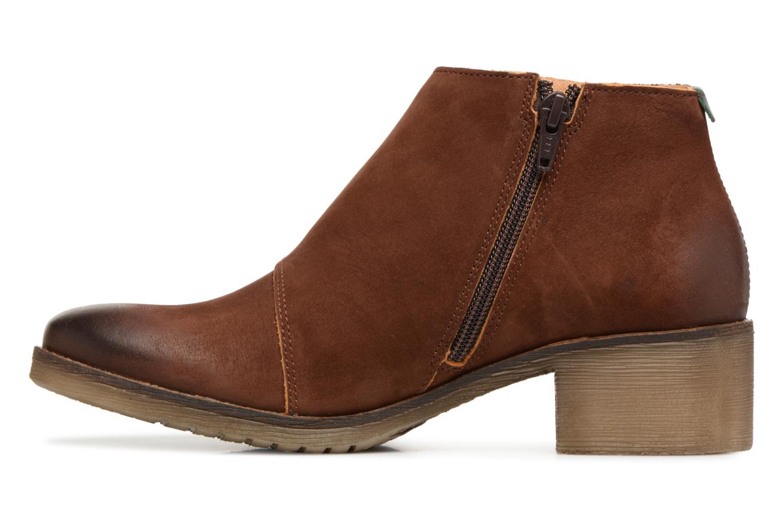 Bottines et boots Kickers MISS Marron vue face
