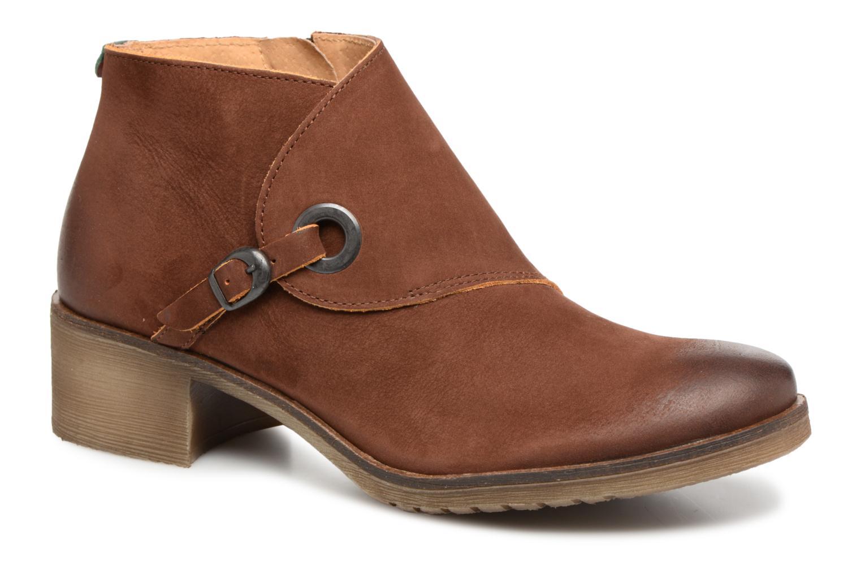 Bottines et boots Kickers MISS Marron vue détail/paire