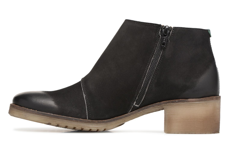 Bottines et boots Kickers MISS Noir vue face