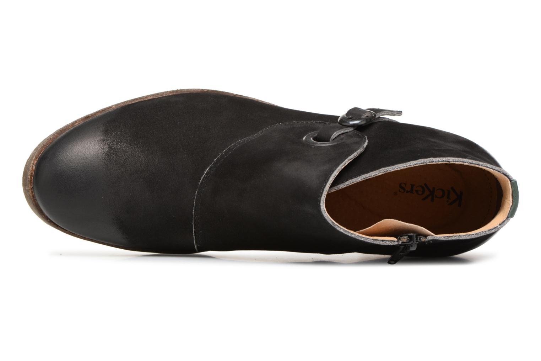 Bottines et boots Kickers MISS Noir vue gauche