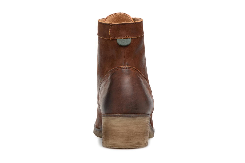 Bottines et boots Kickers MISSING Marron vue droite