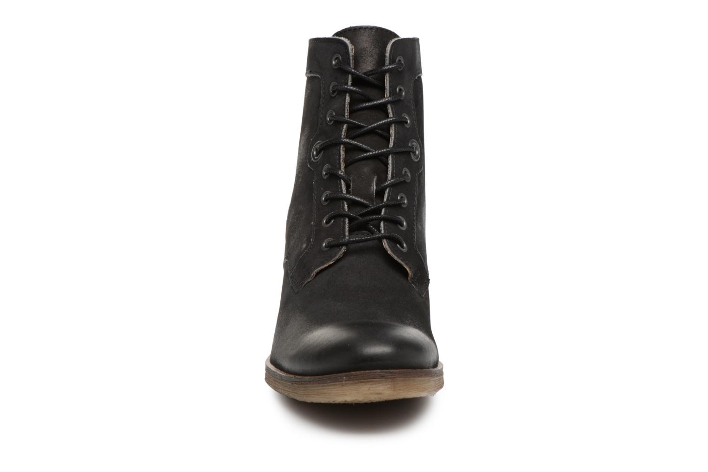 Bottines et boots Kickers MISSING Gris vue portées chaussures