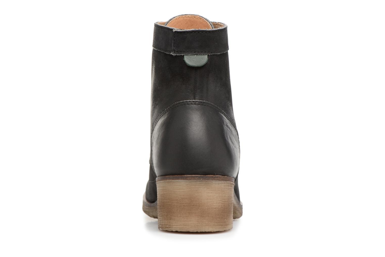 Bottines et boots Kickers MISSING Gris vue droite