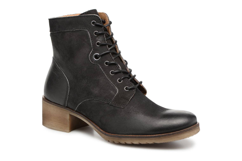 Bottines et boots Kickers MISSING Gris vue détail/paire
