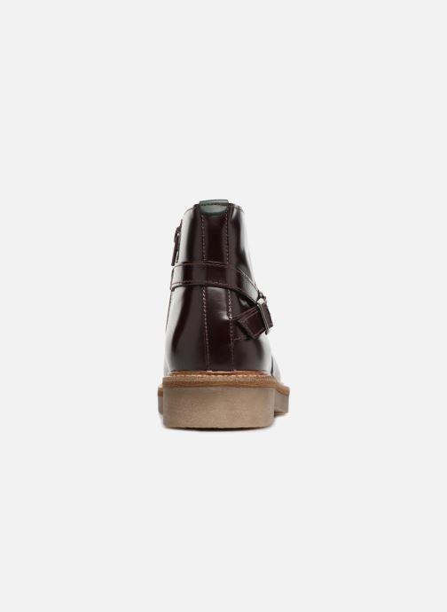 Bottines et boots Kickers OXIMORE Bordeaux vue droite