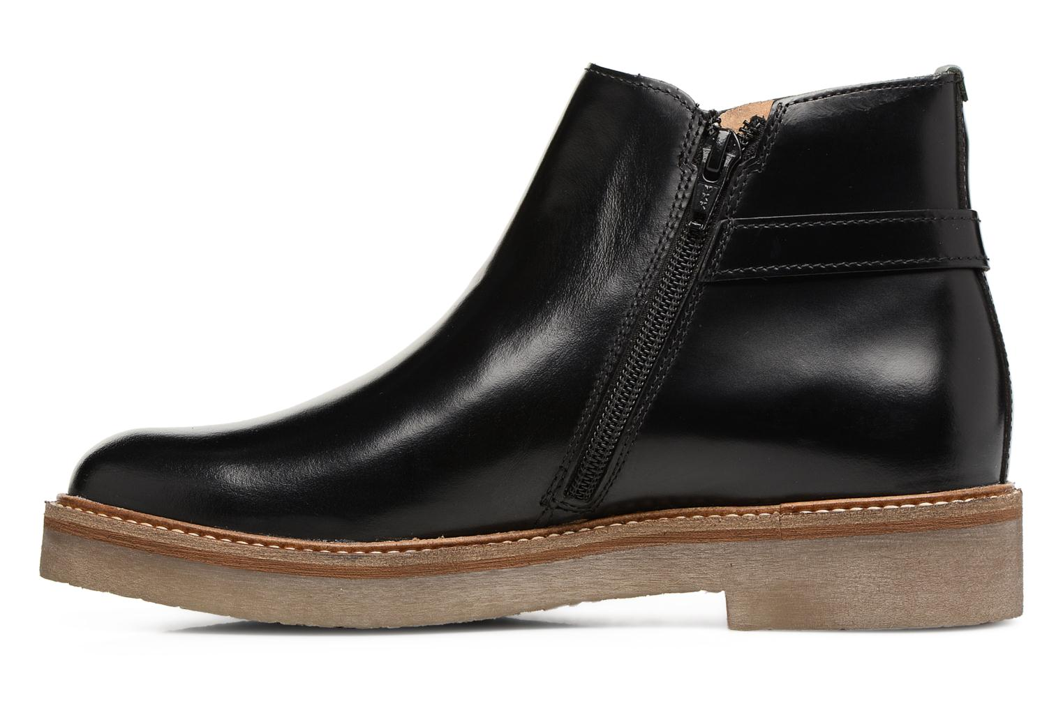 Bottines et boots Kickers OXIMORE Noir vue face