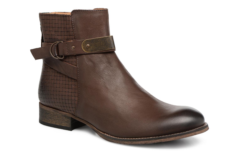 Bottines et boots Kickers PUNKING Marron vue détail/paire