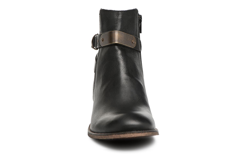 Bottines et boots Kickers PUNKING Noir vue portées chaussures