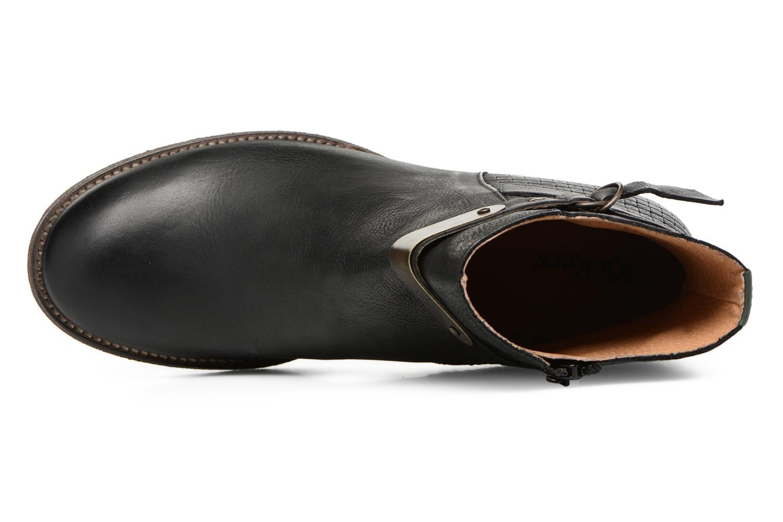 Bottines et boots Kickers PUNKING Noir vue gauche