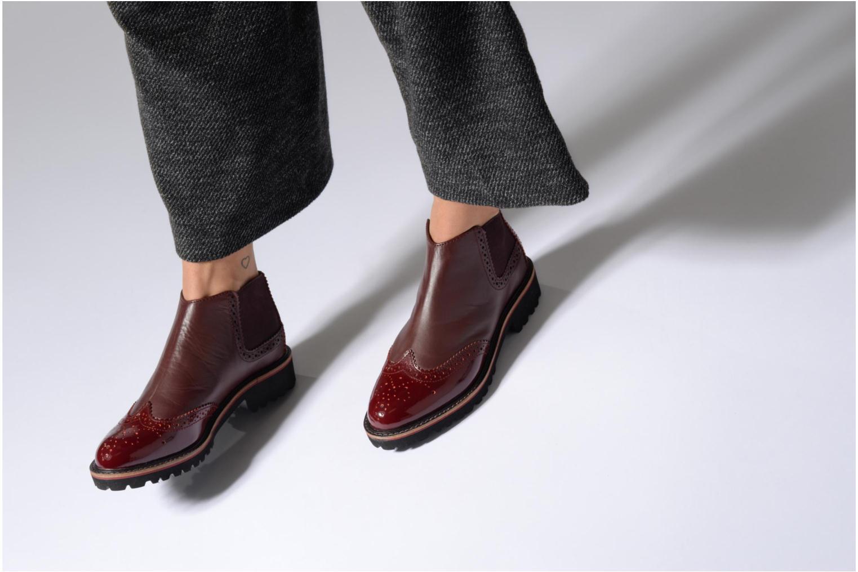 Bottines et boots Kickers RUSKY Noir vue bas / vue portée sac