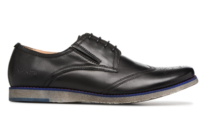 Chaussures à lacets Kickers BREDI Noir vue derrière