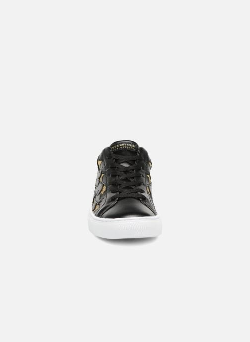 Street Skechers Star Black Side gold W9EH2DI