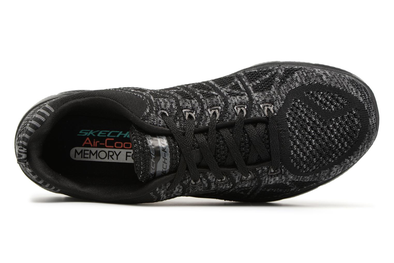 Chaussures de sport Skechers Flex Appeal 2,0 New Gem Noir vue gauche