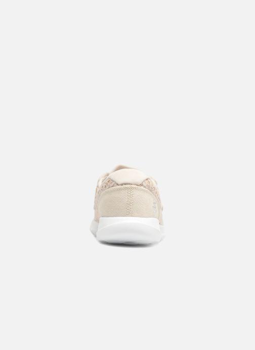 Chaussures à lacets Skechers Go Walk Lite Mira Beige vue droite