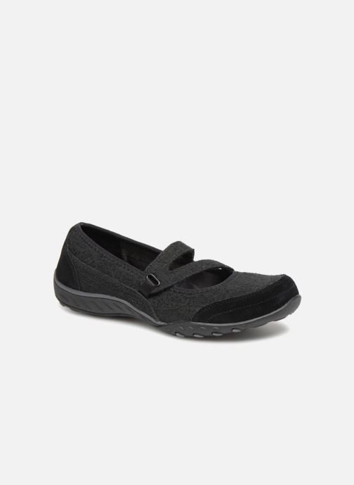 Ballet pumps Skechers Breathe-Easy Pretty Swagger Black detailed view/ Pair view