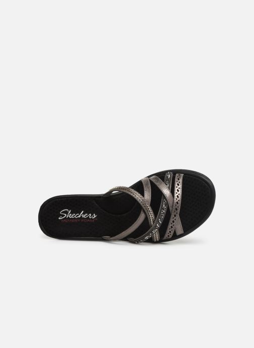 Sandals Skechers Rumbler Wave New Lassie Silver view from the left