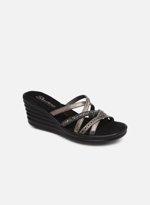 Clogs og træsko Skechers Rumbler Wave New Lassie Sølv detaljeret billede af skoene