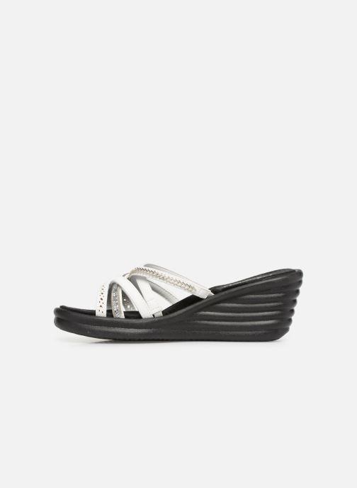 Sandales et nu-pieds Skechers Rumbler Wave New Lassie Blanc vue face