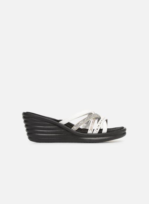 Sandales et nu-pieds Skechers Rumbler Wave New Lassie Blanc vue derrière