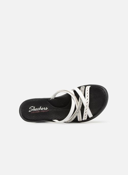 Sandalias Skechers Rumbler Wave New Lassie Blanco vista lateral izquierda