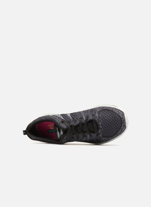 Chaussures de sport Skechers Burst 2.0 Noir vue gauche