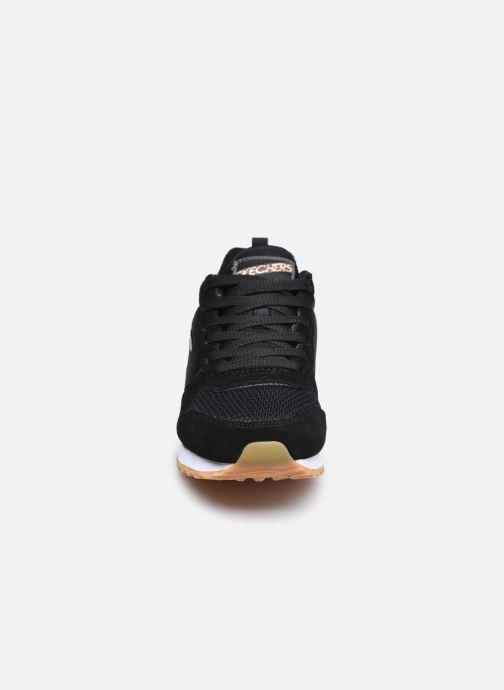 Baskets Skechers OG 85 Gold'n Gurl Noir vue portées chaussures