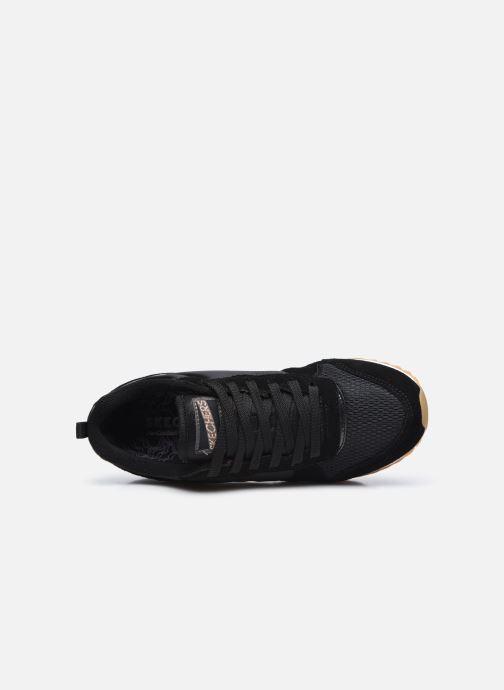 Baskets Skechers OG 85 Gold'n Gurl Noir vue gauche