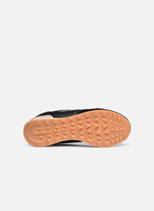 Baskets Skechers OG 85 Gold'n Gurl Noir vue haut