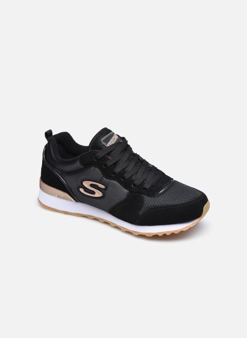 Baskets Skechers OG 85 Gold'n Gurl Noir vue détail/paire