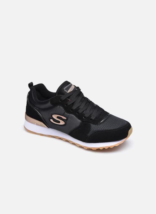 Deportivas Skechers OG 85 Gold'n Gurl Negro vista de detalle / par