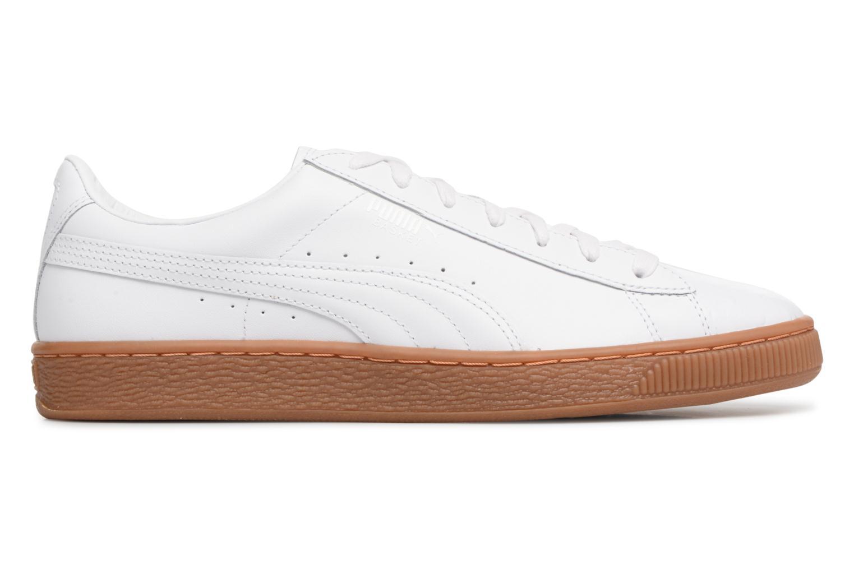 Sneaker Puma BASKET CLASSIC OR weiß ansicht von hinten