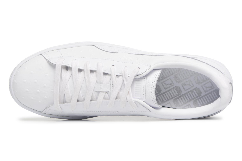 Baskets Puma BASKET CLASSIC OSR Blanc vue gauche