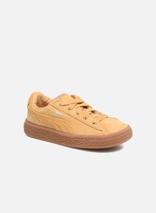 Baskets Puma INF BASKET CLASSIC WEATH Marron vue détail/paire