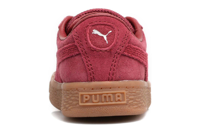 Baskets Puma INF BASKET CLASSIC WEATH Bordeaux vue droite