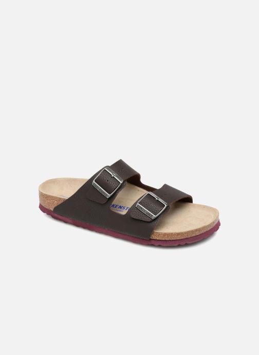 Sandali e scarpe aperte Birkenstock Arizona Flor Soft Footbed M Marrone vedi  dettaglio paio 49dca95194a