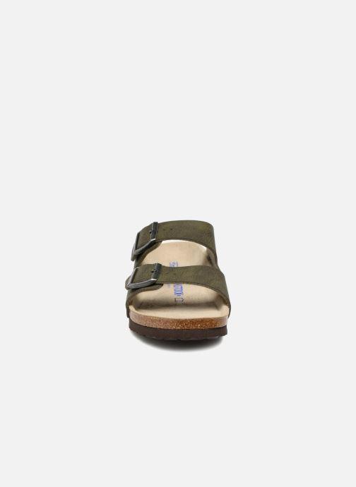 Sandalen Birkenstock Arizona Flor Soft Footbed M Groen model