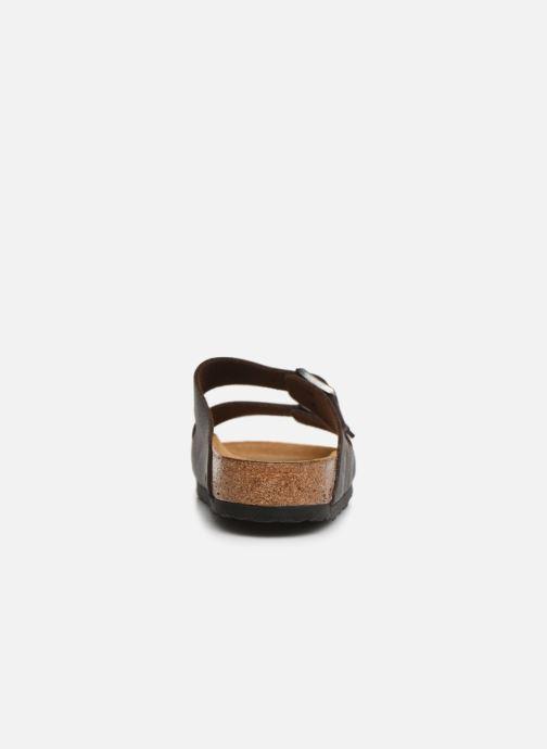 Sandales et nu-pieds Birkenstock Arizona Flor Soft Footbed M Marron vue droite