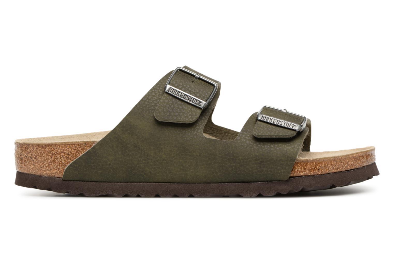 Sandaler Birkenstock Arizona Flor Soft Footbed M Grøn se bagfra