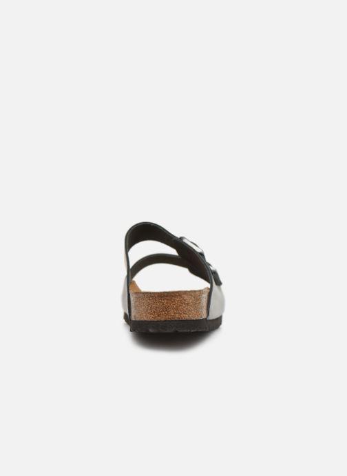Sandalen Birkenstock Arizona Cuir Soft Footbed M Zwart rechts