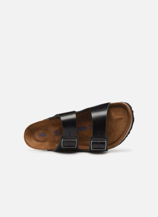 Sandaler Birkenstock Arizona Cuir Soft Footbed M Sort se fra venstre