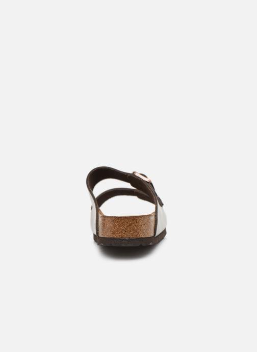 Sandalen Birkenstock Arizona Cuir Soft Footbed M Bruin rechts