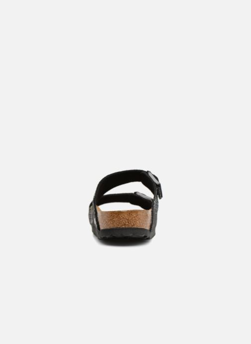 Sandales et nu-pieds Birkenstock Arizona Microfibre W Noir vue droite