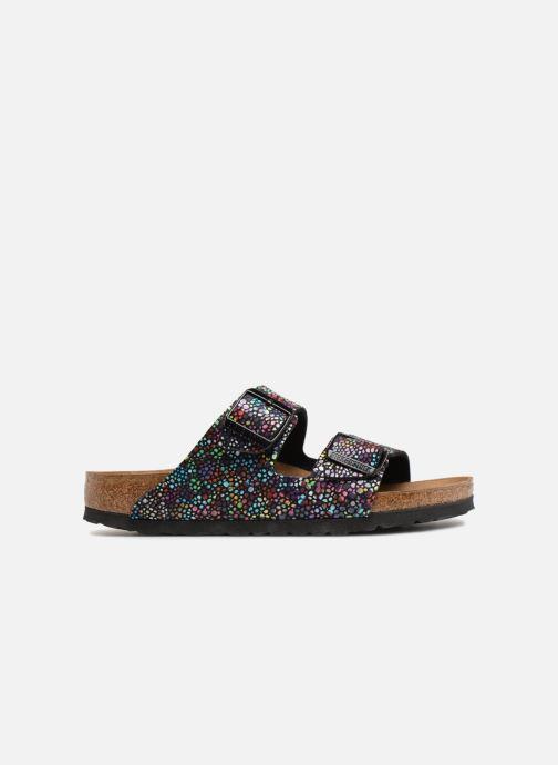 Sandales et nu-pieds Birkenstock Arizona Microfibre W Noir vue derrière