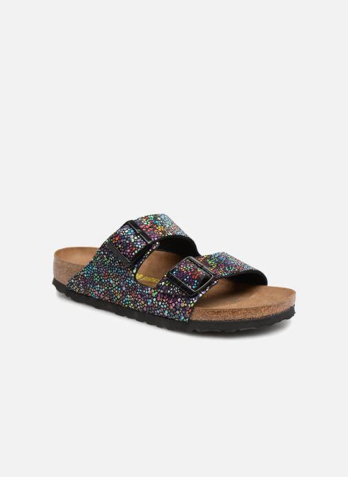 Sandales et nu-pieds Birkenstock Arizona Microfibre W Noir vue détail/paire