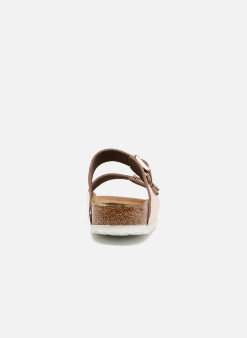 Mules et sabots Birkenstock Arizona Cuir Soft Footbed W Or et bronze vue droite