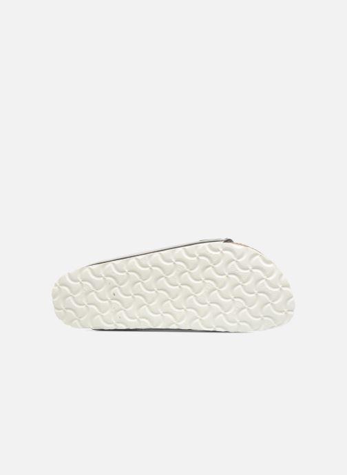Clogs & Pantoletten Birkenstock Arizona Cuir Soft Footbed W silber ansicht von oben
