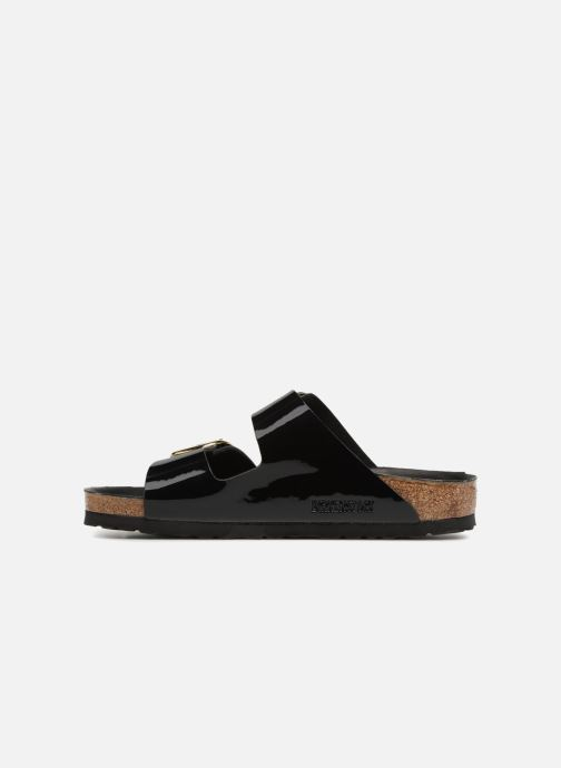 Sandalias Birkenstock Arizona Big Buckle Negro vista de frente