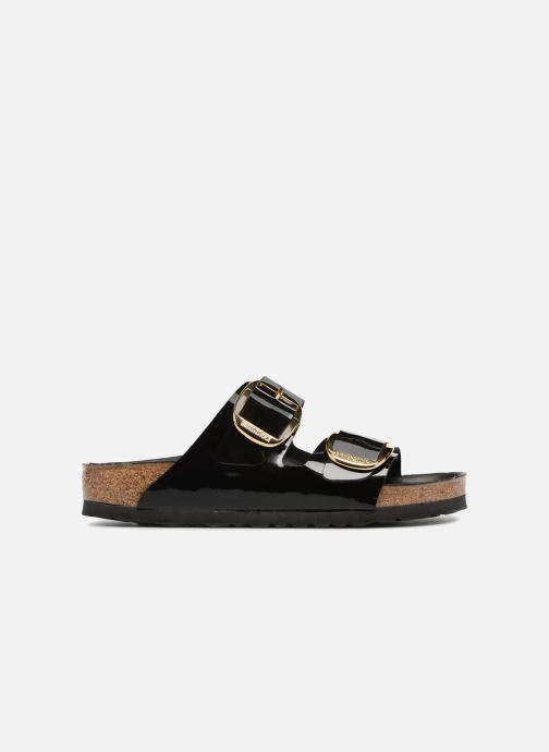 Wedges Birkenstock Arizona Big Buckle Cuir W Zwart achterkant