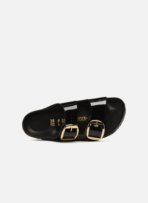 Sandalias Birkenstock Arizona Big Buckle Negro vista lateral izquierda