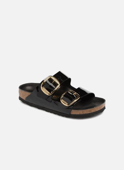 Clogs & Pantoletten Birkenstock Arizona Big Buckle Cuir W schwarz detaillierte ansicht/modell